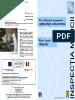 Riscuri expunere agenţi biologici loc muncă-Brosura Inspectia Muncii.pdf
