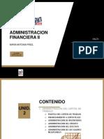 ADMINISTRACION FINANCIERA II TEMA 2 1a. PARTE