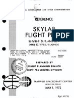 Reference Skylab Flight Plan, SL-1 SL-2, SL-3, And SL-4 (April 30, 1973 SL-1 Launch)