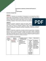 3°1° - EET 3103 - operaciones unitarias y control de procesos 2 - 2020 - Programa