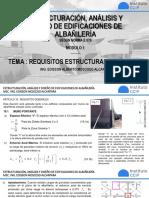 Tema 7. Requisitos estructurales mínimos