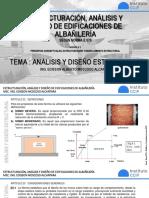 Tema 8. Análisis y diseño estructural