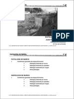 PATOLOGIA MUROS DE CONTENCION