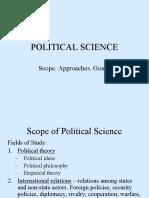 2 Political Science Scope