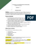 DETAILS OF CONSTRUCTION (1)