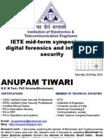 IETE mid-term symposium