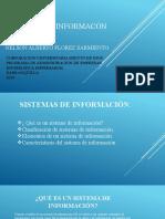 SISTEMAS DE INFORMACÓN