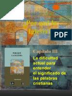 03c POR QUÉ LA IGLESIA - El RACIONALISMO - DENOMINADOR COMÚN - CIENTIFICISMO - CONCLUSIÓN (1)