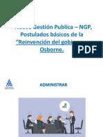 2 Nueva Gestión Publica – NGP,