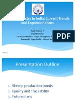 1 Current status of shrimp aquaculture in India Anil Kumar Final