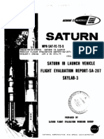 Saturn 1B Launch Vehicle Flight Evaluation Report-SA-207 Skylab-3