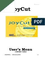 Joycut User Manual