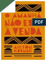 Livro novo Krenak