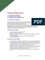 CAPITULO 1 - FUNCIÓN DE TRANSFERENCIA