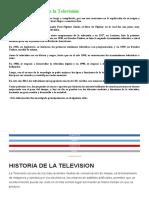 Origen e Historia de la Televisión