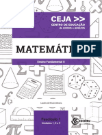 Matemática - Fundamental II - Fascículo 01