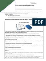 FICHA DE COMPRENSIÓN LECTORA 4B- ADICIONAL- 22-05-2020