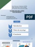 VALORISATION DE CARTES ELECTRONIQUES