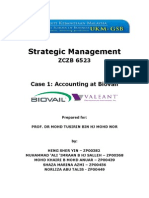 Accounting at Biovai