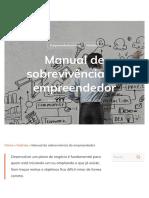 Manual de sobrevivência do empreendedor - meuSucesso.com