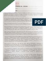 Resolución Ministerial  233/20 del Ministerio de Trabajo