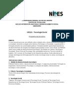 Ementa - Tecnologia Social - NID101_geral