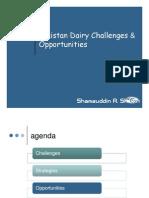 Livestock Dairy Industry Opportunities Challenges Mr Shamsuddin Sheikh Engro Foods