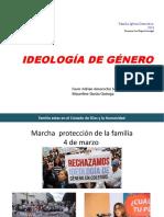 Ideología de género - Marzo 2018