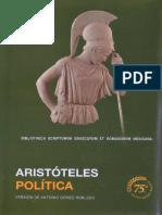 Aristóteles - Πολιτικά • Política