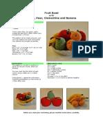 Comida fruta