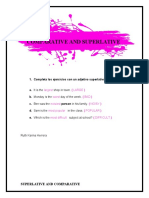 ACTIVIDAD - SUPERLATIVE & COMPARATIVE Ruth Herrera