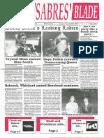 The Sabres' Blade | 8 October 1997