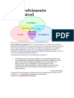 Desenvolvimento sustentável (EDUCAÇÃO AMBIENTAL).