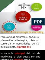 El precio en la estrategia de marketing clase 7