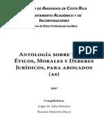 Antología Ética