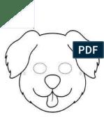 Máscara de perrito
