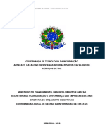 Kit 2 - Governança TIC - Artefato Catálogo dos Sistemas Informatizados (Catálogo de Serviços de TI)