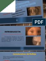 Tipos de retinoscopía, procedimiento e interpretación.
