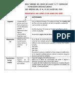 Plan 2do Grado Del 15 Al 23 de Junio Leopoldo