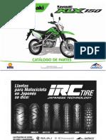 catalogo de partes KLX150