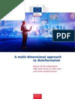 Amulti-dimensionalapproacTEXTO 1- htodisinformation-ReportoftheindependentHighlevelGrouponfakenewsandonlinedisinformation