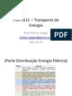 PEA 3511 – Transporte de Energia - Aula Inicial