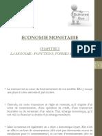 CHAP1 LA MONNAIE - FONCTIONS FORMES MESURE