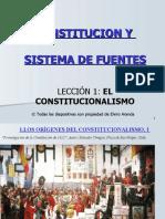 Lección 1ª. EL CONSTITUCIONALISMO