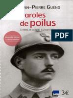 Jean-Pierre - Paroles de poilus