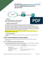 Usando Wireshark para analizar el TCP 3-Way Handshake (1)
