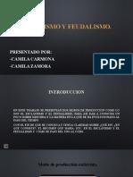 ESCLAVISMO Y FEUDALISMO