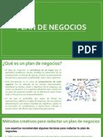 3. Conceptos del Plan de negocios