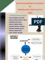 INSTITUCIONES DEL SISTEMA DE JUSTICIA