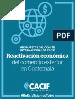 6 Propuesta CACIF Reactivacion económica Comercio Exterior.pdf